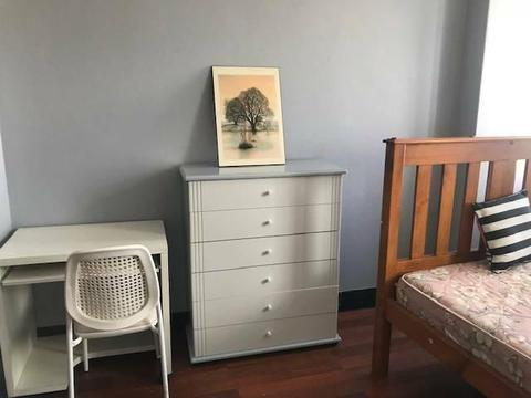 RENT A DOUBLE ROOM NEAR STRATHFIELD STATION IN 3 BEDROOM UNIT