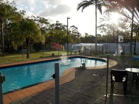 Private secure 2-bed granny flat (ground level) on Nerang acreage