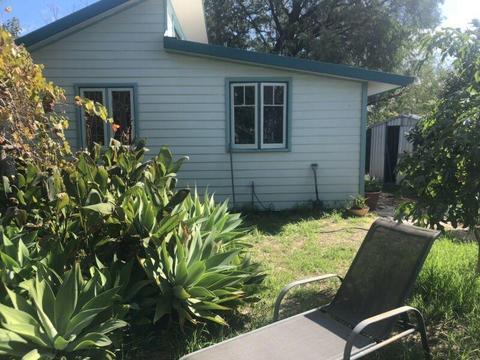 Short term rental in cute garden cottage