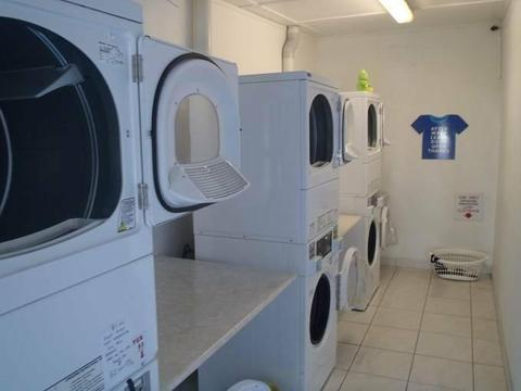 Coin Laundromat with Residence for sale