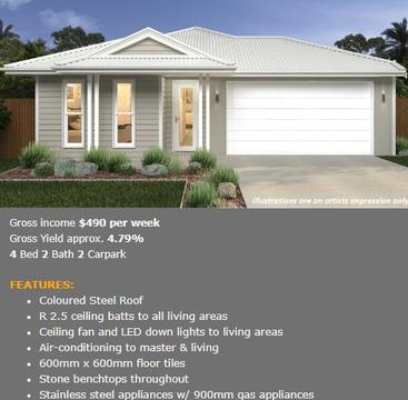 Brand NEW!! Gold Coast - House and Land for $532,000 only!!