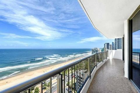 Central Surfers Paradise 2 bedroomed Beachfront Unit